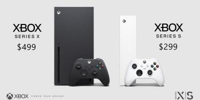 微软率先亮出底牌-XBOX Serise X 499美元11月10日发售 9月22日预售