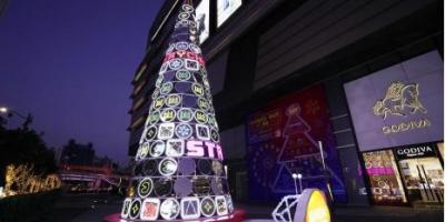 不畏今冬寒潮 万代南梦宫奉上火热圣诞大礼-万代南梦宫也做圣诞树了?