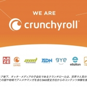 SONY 11.75亿美元收购欧美动画流媒体平台crunchyroll